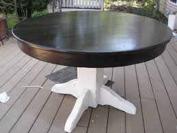 Refinish Dining Room Table Refinished Dining Table Fabulously Flawed