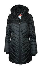 Amazon Com Columbia Women S Morning Light Ii Omni Heat Long Jacket