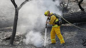 Wildfire Winters California by 8 000 Acre Wragg Fire Near Lake Berryessa 100 Percent Contained