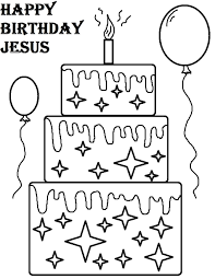 free coloring pages happy birthday
