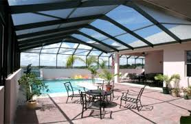Todays Pool And Patio Pool Enclosures And Screen Replacement Add Wind Protection And