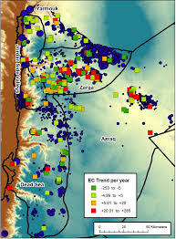 Dead Sea Map Groundwater Level Trends And Forecasts And Salinity Trends In