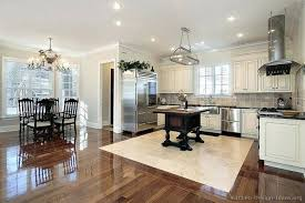 Best Wood Flooring For Kitchen White Kitchen Wood Floors Large Size Of Floor And Cabinet