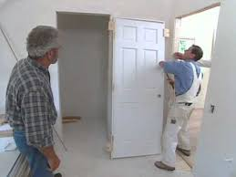 Installing Interior Doors How To Install Interior Door Modern Colonial Bob Vila Eps 2511