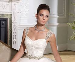 s wedding dress detachable straps and pearls dotted throughout on tulle