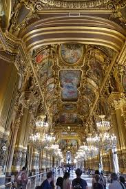 Foyer In Paris The Grand Foyer In The Opera Garnier Picture Of Palais Garnier