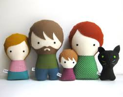 personalized plush dolls by citizenscollectible on etsy