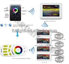 qualified rf wireless remote rgb light switch wifi led