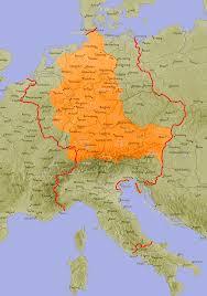 Holy Roman Empire Map Germany