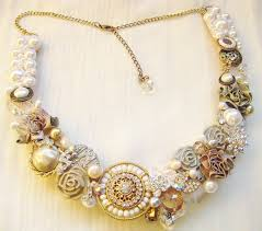 jewellery necklace vintage images Wedding inspiration vintage wedding jewelry marriage jewellery set jpg