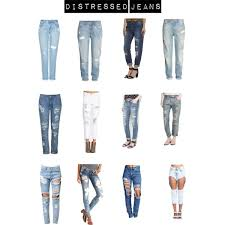 Forever 21 Ripped Jeans Distressed Jeans Polyvore