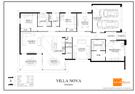 contemporary floor plan stunning single story modern house floor plans contemporary
