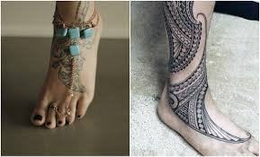 get beautiful tattoo design inked on your foot top beauty magazines
