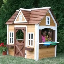 Backyard Cedar Playhouse by Wood Playhouse Kit Foter