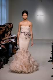 winter wedding dresses 2011 wedding trends blush wedding dresses the magazine