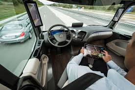 mercedes digital dashboard autonomous mercedes future truck 2025 previews the future of shipping