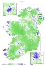 Dingle Ireland Map 12 5 Mapping And Geographical Variation National Cancer Registry