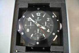 hublot big bang wall clock for 8 859 for sale from a trusted