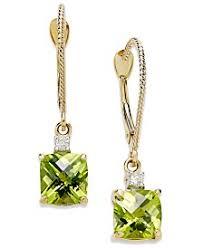 Peridot Chandelier Earrings Peridot Earrings Shop Peridot Earrings Macy U0027s