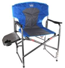 Timber Ridge Camp Chair Large Timber Ridge Camping Chair With Side Table N B Side Table