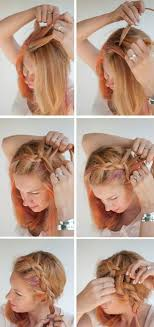 Hochsteckfrisuren Selber Machen F Kurze Haare by Frisuren Selber Machen Seitenzopf Selber Machen Flechtfrisuren