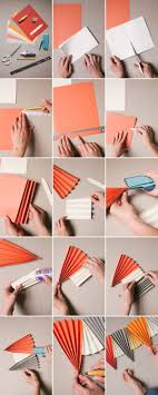 how to make paper fans paper fan garland diy