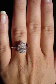 light pink engagement rings pink engagement rings pear halo in platinum pink
