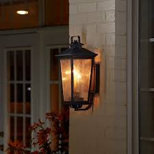 Overstock Wall Sconces Fifth And Main Parsons Field 2 Light Antique Iron Outdoor Wall