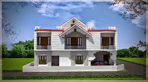 Modern Duplex House Plans by Modern Duplex House Plans In India Youtube
