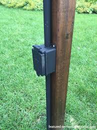 outdoor light pole mount outdoor string light pole mount outdoor designs