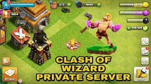 free clash of clans wizard clash of wizard coc private server apk august 2017 tomzpot