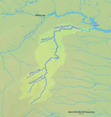 map of missouri river missouri river dakota