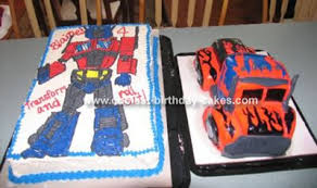 optimus prime cakes cool transformers optimus prime cake