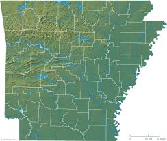 of arkansas cus map map of arkansas