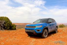 orange jeep compass 2017 jeep compass trailhawk review autoguide com news