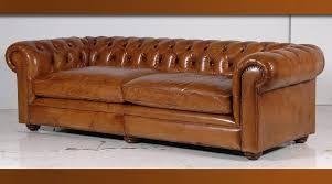 canape chesterfield vintage canape capitonne cuir canapac chesterfield marron en simili cuir 3