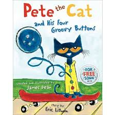 pete the cat and his four groovy buttons hardcover by eric