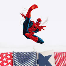 online buy wholesale christmas wall decal from china christmas cartoon spiderman wall stickers for kids rooms children room wall decals home decor wallpaper mural gift