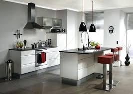 cuisine ouverte ilot central modele de cuisine americaine modele de cuisine americaine 13 avec