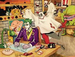 Joker Halloween Joker Harley Quinn Halloween Batman Markers By Ajollyjinx On