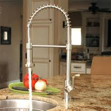 stainless steel kitchen faucet with pull down spray best pull down kitchen faucet phpilates com