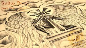 custom tattoo design guardian angel youtube