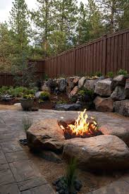 articles with landscaping around a fire pit tag surprising
