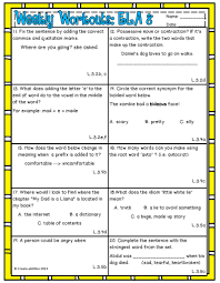 quotation marks end of sentence weekly workouts language arts 3rd grade preview review weekly