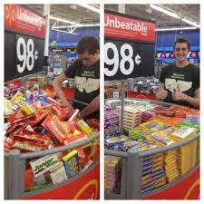 ocd guy organizing the halloween candy at walmart cdo it u0027s ocd