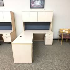 Lacasse Conference Table Used Lacasse Left L Shaped Executive Desk With Hutch Maple