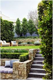 Sloping Backyard Landscaping Ideas Sloped Backyard Surrounded By Wooden Fence Luxury New Construction