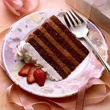fruit crowned chocolate mocha cream torte recipe land o u0027lakes