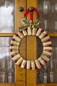 how to make eco friendly christmas wreaths cork wreaths and craft