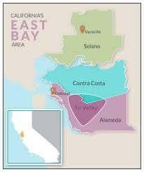 san francisco map east bay east bay area